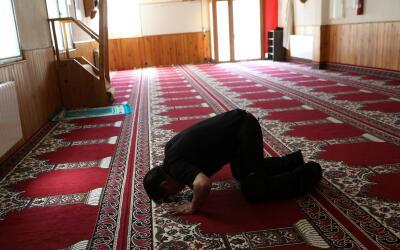 La mezquita en Ripoll donde dirigía el rezo el imán Es Sat...