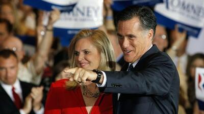 Romney agradeció a la gente de Illinois por su victoria en ese estado.