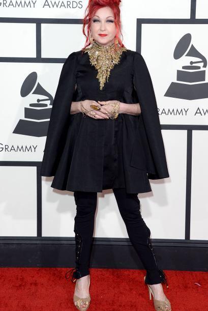 Muchos consideraron que Cyndi Lauper fue de las mejores, en nuestra opin...