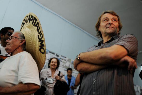 Battisti fue arrestado en 2007 en Río de Janeiro después d...