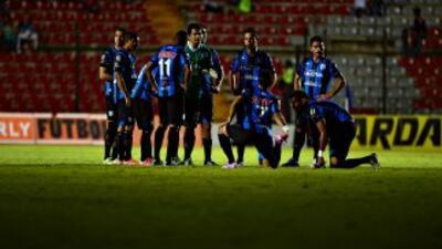 El alumbrado del Estadio La Corregidora se apagó por espacio de casi 40...