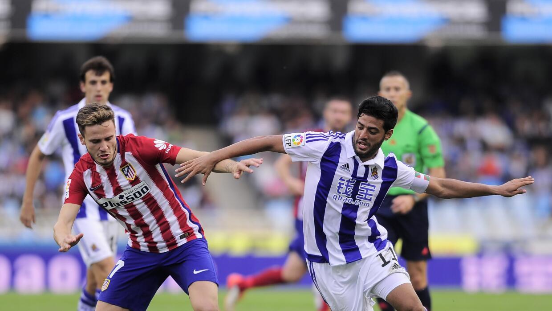 Carlos Vela en la actual temporada de la Liga española.