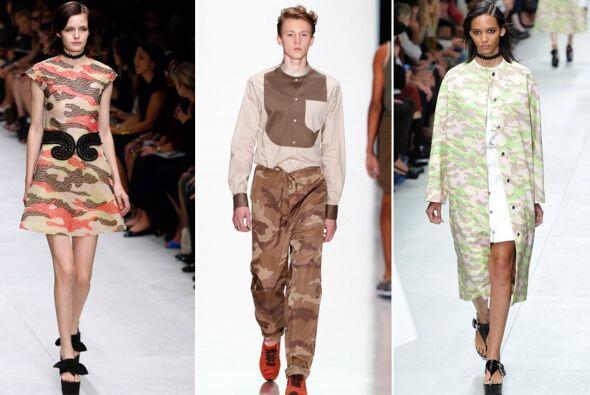 El estampado de camuflaje se pone de moda este otoño/invierno. ¡Así que...