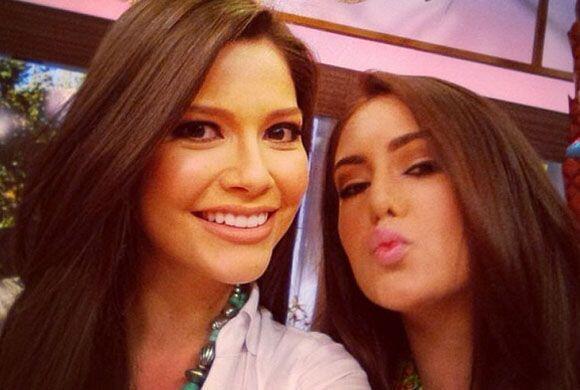 """Esta fotito con @BarbaraTurbay en @DespiertaAmericaTv"", dijo Ana. (Marz..."