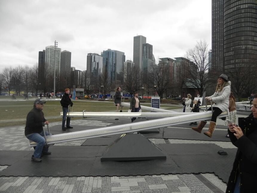 Renzo y Maria Esther visitaron la ciudad y suburbios de Chicago DSCN7435...