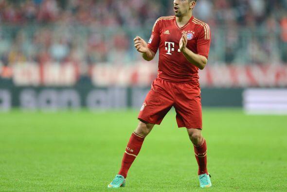 También  aparece el talentoso francés Franck Ribéry.