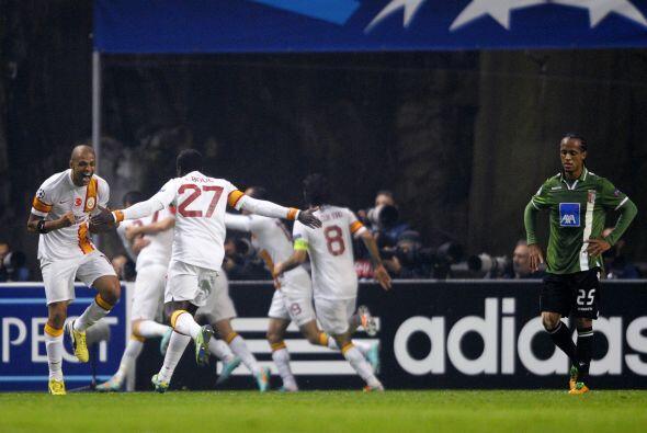 Por último, el Galatasaray remontó en casa del Braga portugués para logr...