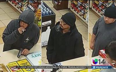 Buscan a tres hombres armados que robaron una gasolinera en San José