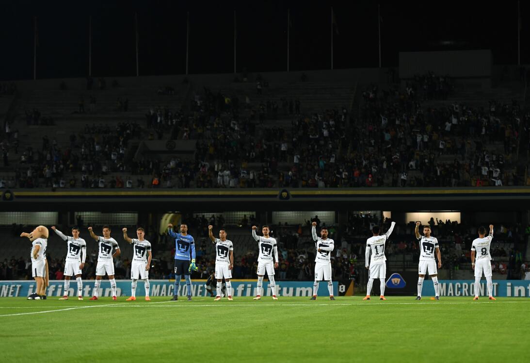 En fotos: heróico triunfo del Necaxa, con un jugador menos, ante Pumas p...