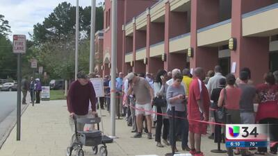 Se registra alta participación en periodo de votación temprana en Georgia