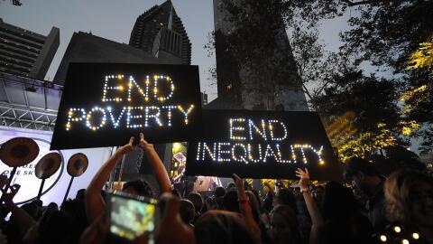 El estudio insiste en la creciente desigualdad pero también apunt...