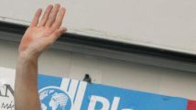 Wouter Weylandt, de 26 años, perdió el control de su bicicleta a 25 kil...