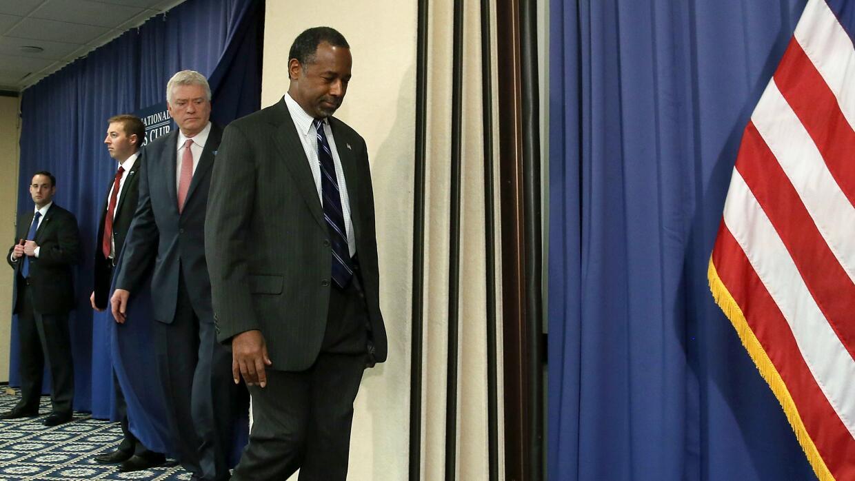 Ben Carson se retira de la contienda por la nominación republicana carso...