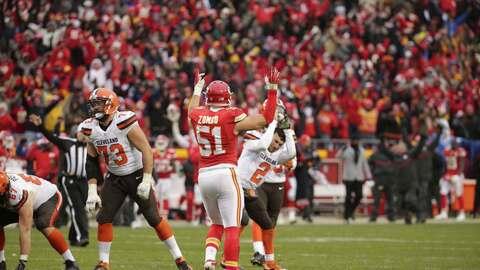 Chiefs 17-13 Browns: KC consigue boleto a playoffs con noveno triunfo al...
