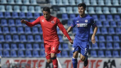 Cruz Azul cayó ante Veracruz en duelo de preparación rumbo al Clausura 2...