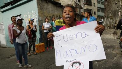 Detienen en Venezuela a un grupo de soldados alzados contra el gobierno de Nicolás Maduro