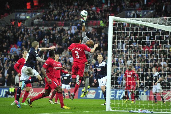 El cancebero dio un excelente partido en la semifinal de la FA Cup ante...