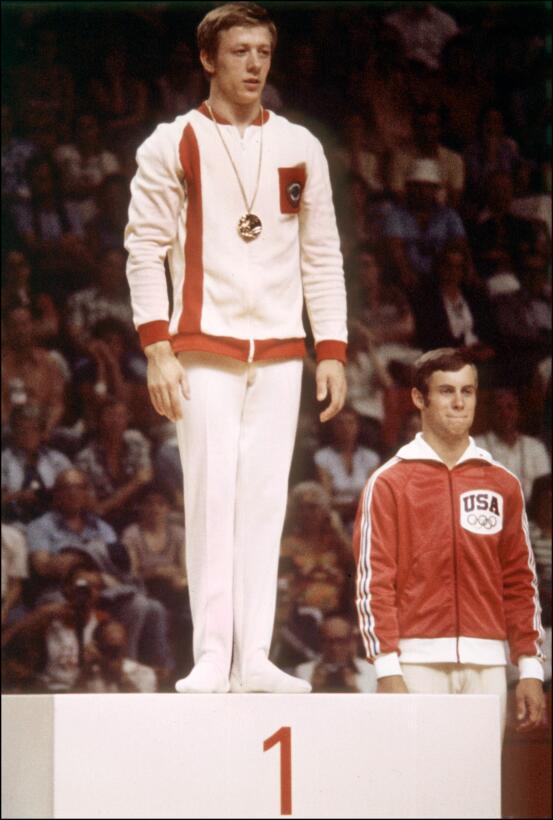 3. Nikolai Andrianov (URSS/gimnasia artística) - 15 (7 oros, 5 platas, 3...