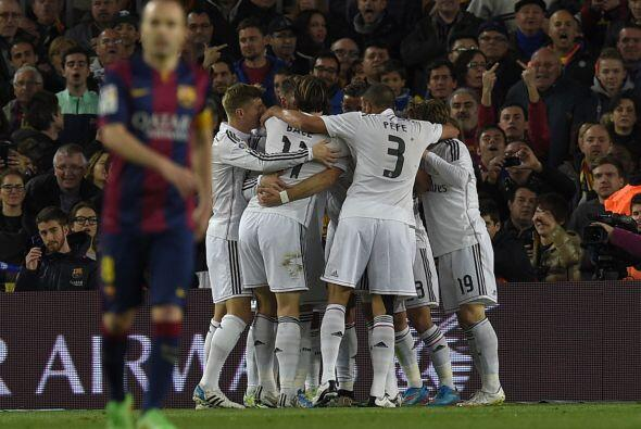 Real Madrid reaccionó en el momento justo para no dejar actuar al Barcel...