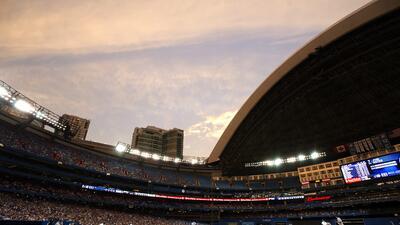 Cancelan juego de Grandes Ligas en Toronto por fuerte nevada