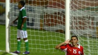 Chile derrotó a Bolivia