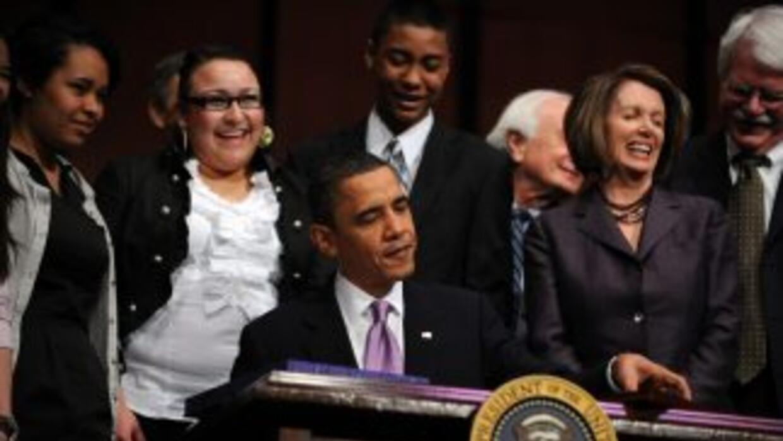 El presidente firmó la ley de reforma de salud en marzo de este año.