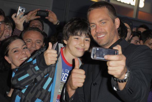 Paul siempre se portaba amigable con los fans.