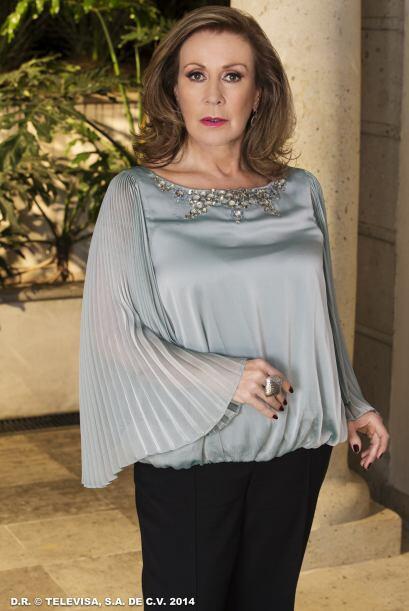 """""""Lorenza"""" (Laura Zapata) es la mamá de """"Pablo"""". Ella será el mayor obstá..."""