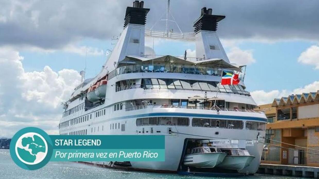Mini crucero Star Legend