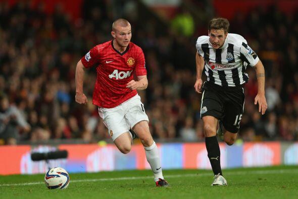 El United pasó algunos problemas en los primeros minutos, pues se topó c...