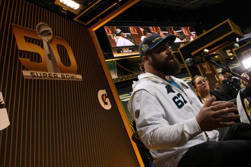 Los jugadores de los Carolina Panthers se mostraron listos para ser camp...