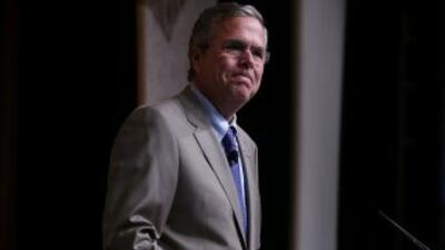 La participación del exgobernador de Florida, Jeb Bush, en el evento.