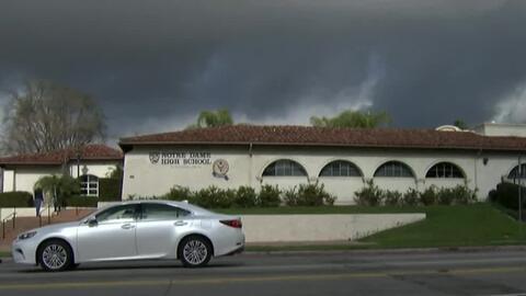 Falsa alerta de balacera causó el cierre de una escuela en Sherman Oaks...