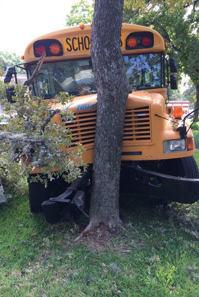 Hay al menos 14 heridos, el autobús se accidentó esta ma&n...