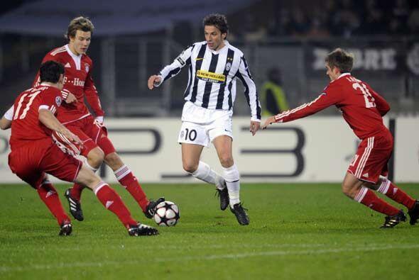 La última jornada de la fase de grupos de la 'Champions' enfrentó a Juve...