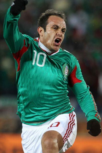 El 'Cuau' jugó con la selección mexicana de 1995 al 2014, periodo en el...