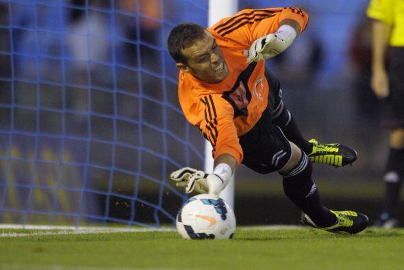 Sergio Álvarez del  Celta de Vigo es el arquero elegido como el mejor de...