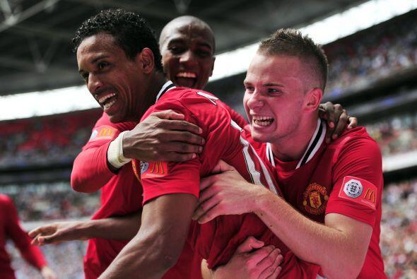 Este gol fue suficiente para que el 'Man-U' lograra una voltereta impres...