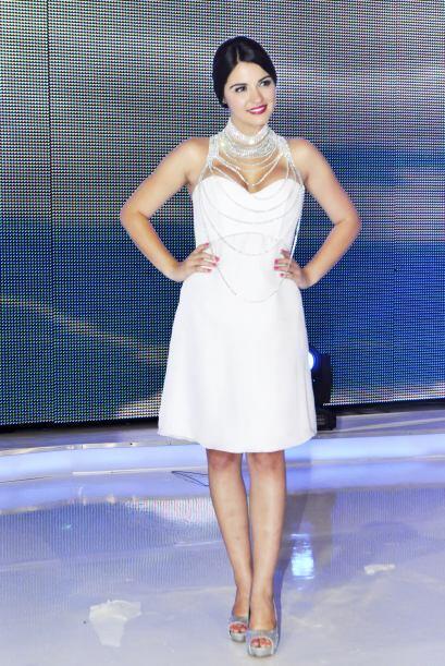 Aunque sabe que es una de las favoritas de las telenovelas no deja de po...
