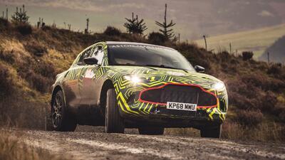 La locura continúa, Aston Martin anuncia la DBX su primera SUV