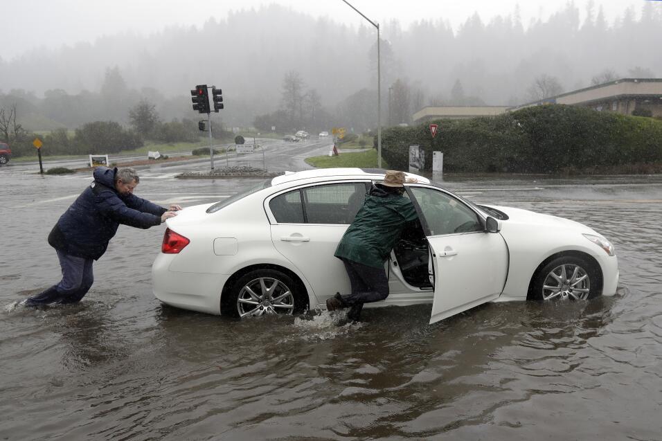 Lluvias en el norte de California