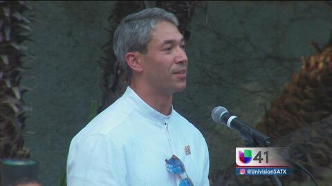 Ron Niremberg tomó protesta como alcalde de San Antonio con un discurso...