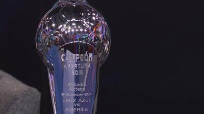 ¿Cruz Azul o América? Alguno de los dos se llevará este trofeo a sus vitrinas a partir del domingo