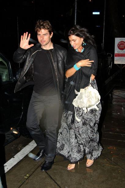 ¿Cómo olvidar su romance con Tom Cruise?