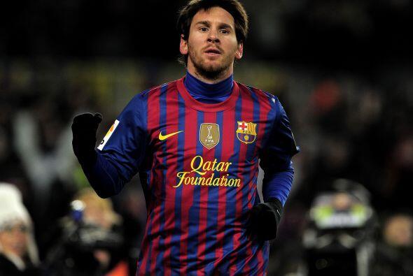 Lionel participó de los dos tantos de su equipo, metió el...