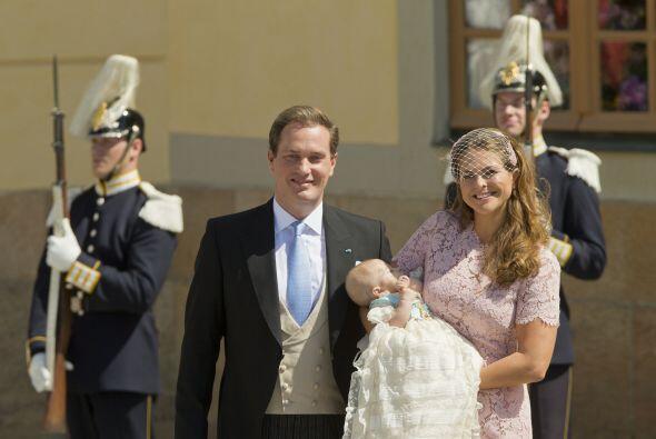 Magdalena de Suecia y su esposo,  el empresario Christopher O'Neill, luc...