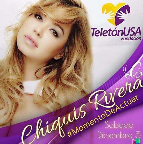 Chiquis Rivera Teletón USA 2015
