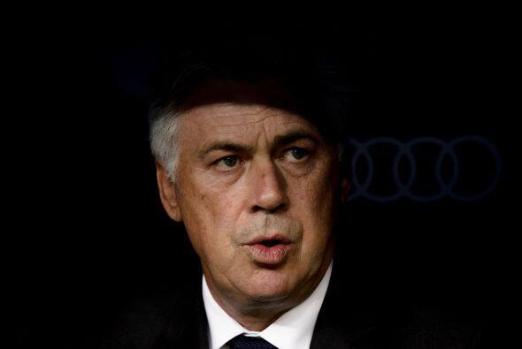 Carlo Ancelotti tenía esta cara de pocos amigos luego de la victoria col...