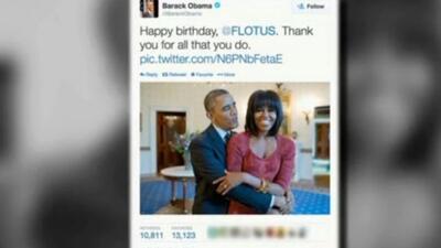 """""""Cincuenta y fabulosa"""" es como Michelle Obama festejó su cumpleaños"""