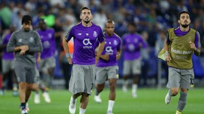 Herrera y Tecatito vuelven a Moscú con el Porto para medirse a Lokomotiv en la Champions